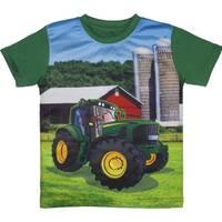 John Deere Boys' Green Short Sleeve Farm Tee Shirt from Blain's Farm and Fleet