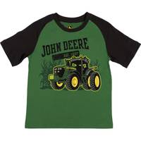 John Deere Little Boys' Green Short Sleeve Established Tee Shirt from Blain's Farm and Fleet