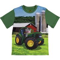 John Deere Little Boys' Green Short Sleeve Farm Tee Shirt from Blain's Farm and Fleet