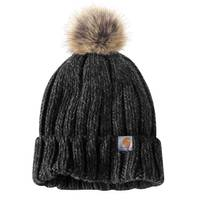 Carhartt Women's Millville Pom Hat from Blain's Farm and Fleet