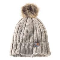 Carhartt Women's Millville Pom Hat from Blain's Farm and Fleet