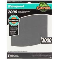Gator Bulk Waterproof Mirror Fine 9x11 2000 Grit 5-Pack from Blain's Farm and Fleet