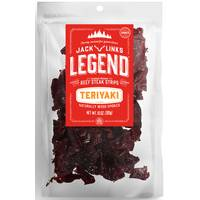 Jack Link's Legend Teriyaki Beef Jerky from Blain's Farm and Fleet