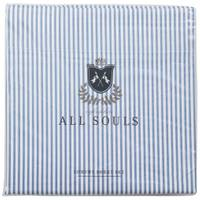 Northpoint Trading All Souls Stripe Sheet Set Denim Queen from Blain's Farm and Fleet