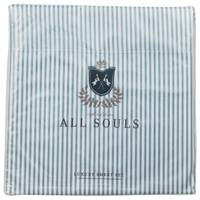 Northpoint Trading All Souls Stripe Sheet Set Silver Sage Queen from Blain's Farm and Fleet