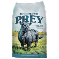 Taste of the Wild 25 lb Prey Angus Beef Dog Food from Blain's Farm and Fleet