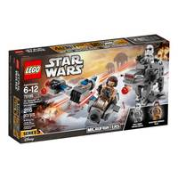 LEGO 75195 Star Wars Ski Speeder vs FO Walker from Blain's Farm and Fleet