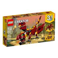 LEGO 31073 Creator Mythical Creatures from Blain's Farm and Fleet