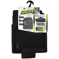 Smart Fit 3-Piece Black Rubber Truck Floor Mat Set from Blain's Farm and Fleet