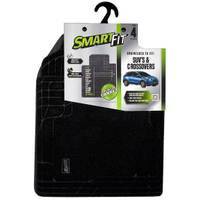 Smart Fit 4-Piece Black Carpet SUV Floor Mat Set from Blain's Farm and Fleet