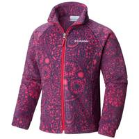 Columbia Girls' Benton Springs II Printed Fleece Jacket from Blain's Farm and Fleet
