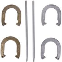 Triumph Hammer-Finished Steel Horseshoes Set from Blain's Farm and Fleet