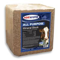 Agrimaster All Purpose Mineral Block from Blain's Farm and Fleet
