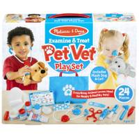Melissa & Doug Pet Vet Examine & Treat Play Set from Blain's Farm and Fleet