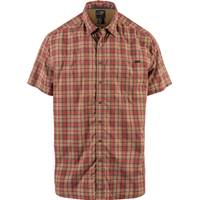 5.11 Tactical Men's Coyote Short Sleeve Hunter Plaid Shirt from Blain's Farm and Fleet