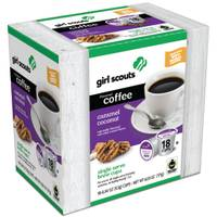 Girl Scouts 18 Count Girl Scouts Caramel Coconut Coffee from Blain's Farm and Fleet