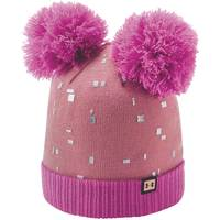 Under Armour OS Girls' Double Pom Beanie from Blain's Farm and Fleet