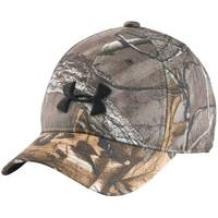 Under Armour Boy's Realtree Ap Xtra & Maverick Brown Camo Cap from Blain's Farm and Fleet