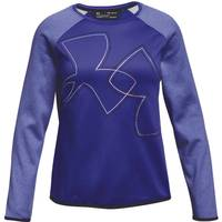 Under Armour Girls' Purple AF Crew Shirt from Blain's Farm and Fleet