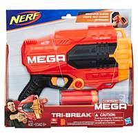 NERF Mega Tri-Break Dart Blaster from Blain's Farm and Fleet