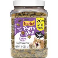 Friskies 20 oz Party Mix Kahuna Cat Treats from Blain's Farm and Fleet