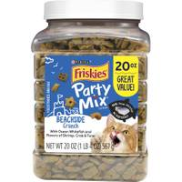 Friskies 20 oz Party Mix Beachside Treats from Blain's Farm and Fleet