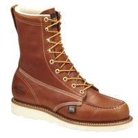 Thorogood Men's Tobacco American Heritage Safety Toe Boots - Made in USA from Blain's Farm and Fleet
