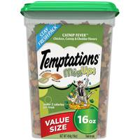 Temptations 16 oz Mixups Catnip Fever Cat Treats from Blain's Farm and Fleet