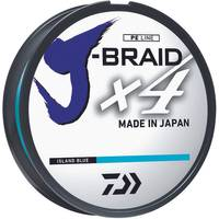 Daiwa 10 lb J-Braid X4 Island Blue Braided Line from Blain's Farm and Fleet
