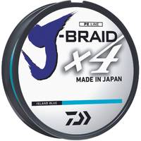 Daiwa 15 lb J-Braid X4 Island Blue Braided Line from Blain's Farm and Fleet