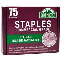 Easy Gardener Pack-75 Landmaster Fabric & Sod Staples from Blain's Farm and Fleet