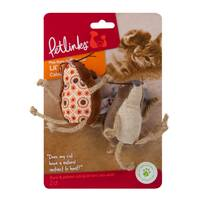 Petlinks Lil Critters Mice with Rope Legs from Blain's Farm and Fleet