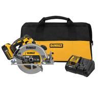 DEWALT 20V MAX Brushless Circular Saw Kit (5.0 Ah) from Blain's Farm and Fleet