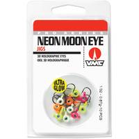 Rapala Neon Moon Eye Jig Glow Kit 1/32 oz Fishing Lure Assortment from Blain's Farm and Fleet