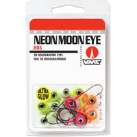 Rapala Neon Moon Eye Jig Glow Kit 1/8 oz Fishing Lure Assortment from Blain's Farm and Fleet