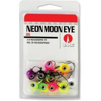Rapala Neon Moon Eye Jig Glow Kit 3/8 oz Fishing Lure Assortment from Blain's Farm and Fleet
