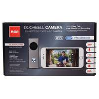 RCA Home Security WiFi Doorbell Camera from Blain's Farm and Fleet