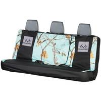 Realtree Realtree Antler Microfiber Cool Mint Front Seat Bench Seat Cover from Blain's Farm and Fleet