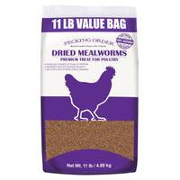 Pecking Order 11 lb Mealworms from Blain's Farm and Fleet