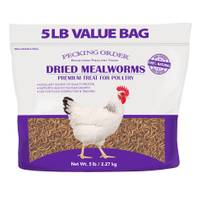 Pecking Order 5 lb Mealworms from Blain's Farm and Fleet
