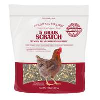 Pecking Order 12 lb 5 Grain Scratch from Blain's Farm and Fleet