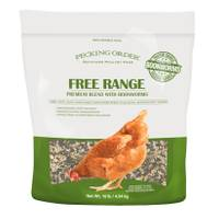 Pecking Order 10 lb Free Range Blend from Blain's Farm and Fleet