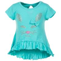 Colette Lilly Girls' Short Sleeve Knit Studded Top from Blain's Farm and Fleet