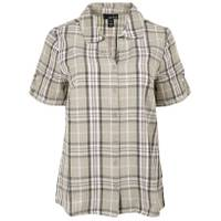 Erika L MS S/S Enchanted Plaid Olive from Blain's Farm and Fleet