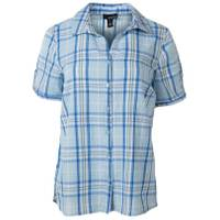 Erika Misses Blue Bell Short Sleeve Enchanted Plaid Shirt from Blain's Farm and Fleet