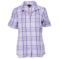 Erika XL MS S/S Enchanted Plaid Purple Iris from Blain's Farm and Fleet