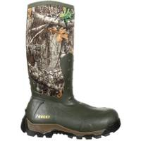 Rocky Men's Realtree Edge Claw Rubber Boots from Blain's Farm and Fleet