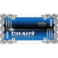 Cruiser Accessories Chrome Chain License Plater Holder from Blain's Farm and Fleet