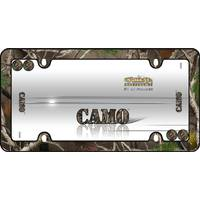 Cruiser Accessories Camo Black with Fastener Caps License Plater Holder from Blain's Farm and Fleet