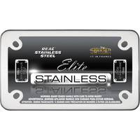 Cruiser Accessories Stainless Steel MC Elite License Plater Holder from Blain's Farm and Fleet